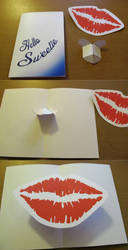 Hello Sweetie! Valentines Card by F-A