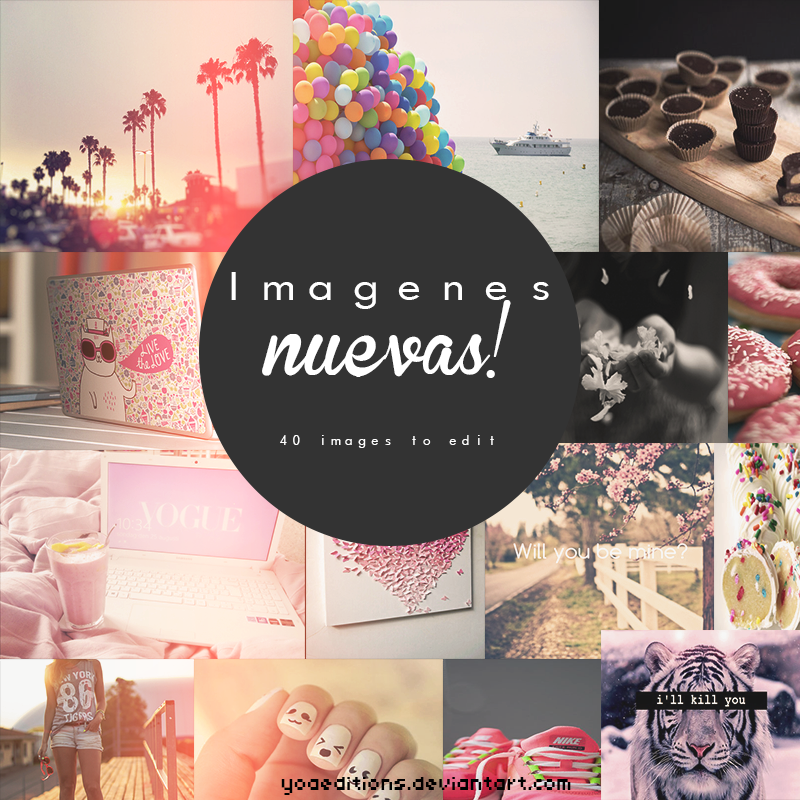 Imagenes Para Editar! by yoaeditions