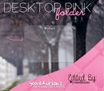 Desktop Pink Folder xWIDGET SKIN
