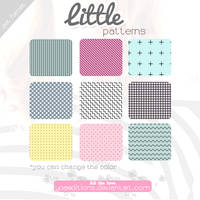 Little Patterns | Motivos para PS by yoaeditions