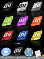 AWD Icon Pack 1 by 5MILLI