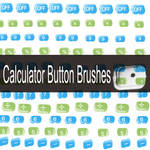 Calculator Button Brushes