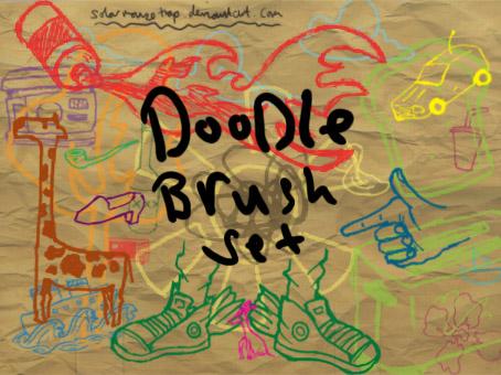 Doodle Brush set