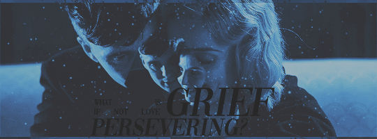 But what is grief, if not love persevering?