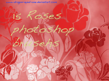 Roses brushset 3 by Dragon-eyed-one