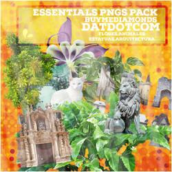 Pack de pngs + landscapes rares.