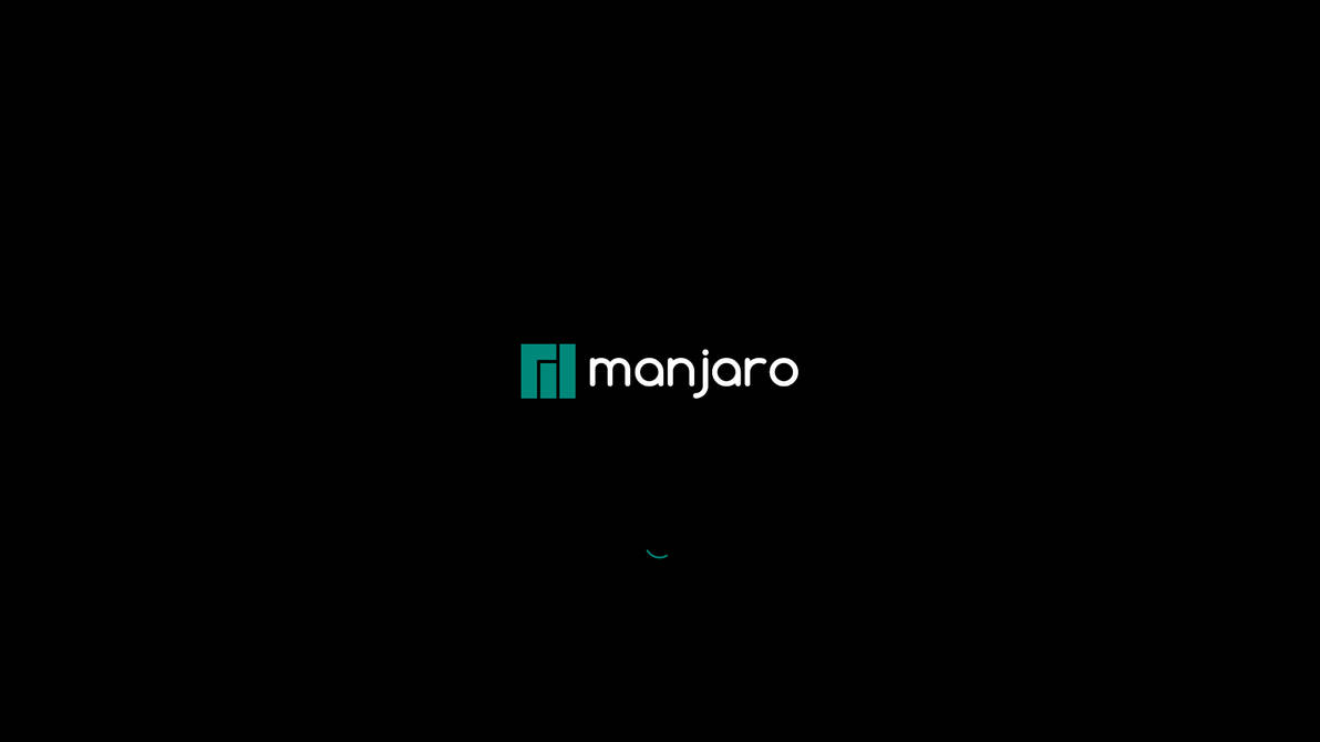 Manjarologoblack by darkmuaddib