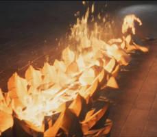 Flame Slash VFX (Animation) by mad-jojo
