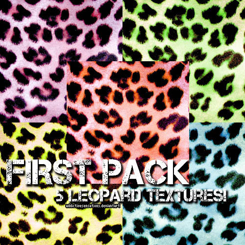 + First Pack Leopard Textures by addictivesensations