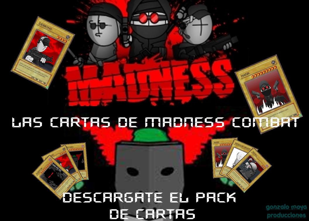 cartas de madness combat by gonzalomoya