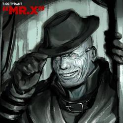 Mr. X / T-00 Tyrant (gif) by rubendevela
