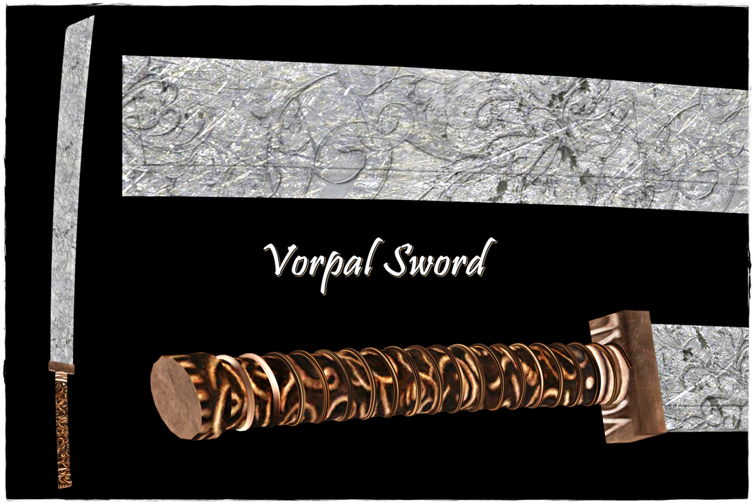 Vorpal Sword by jagged66