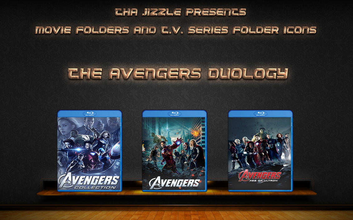 The Avengers Duology Movie Folder Icons by ThaJizzle