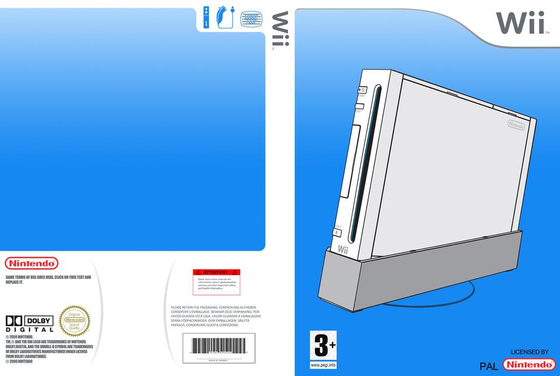 wii cover template 600dpi by blotarenss on deviantart