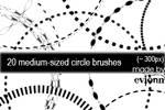 medium-sized circles