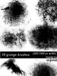 Diverse Grunge Brushes