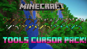 Minecraft Tools Cursor Pack