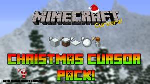 Minecraft Christmas Cursor Pack