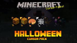 Minecraft Halloween Cursor Pack