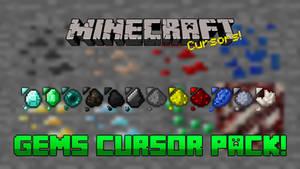 Minecraft Gems Cursor Pack