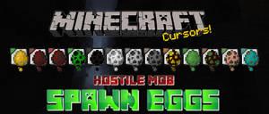 Hostile Mob Spawn Eggs