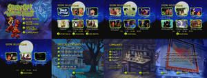 Scooby Doo And The Witches Ghost DVD Menus
