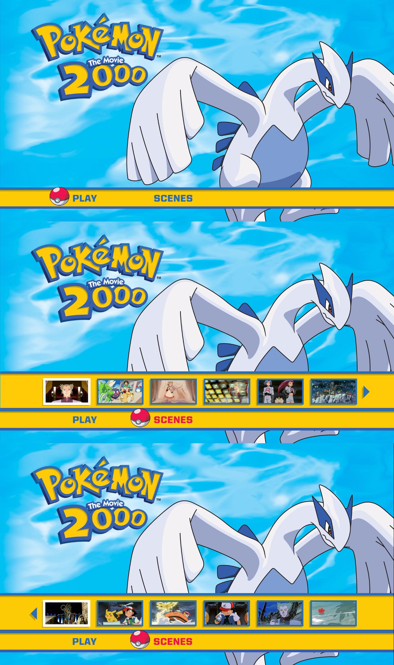 Pokemon The Movie 2000 Blu Ray Menu By Dakotaatokad On Deviantart