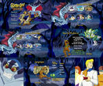 Scooby Doo and the Legend of the Vampire DVD Menus
