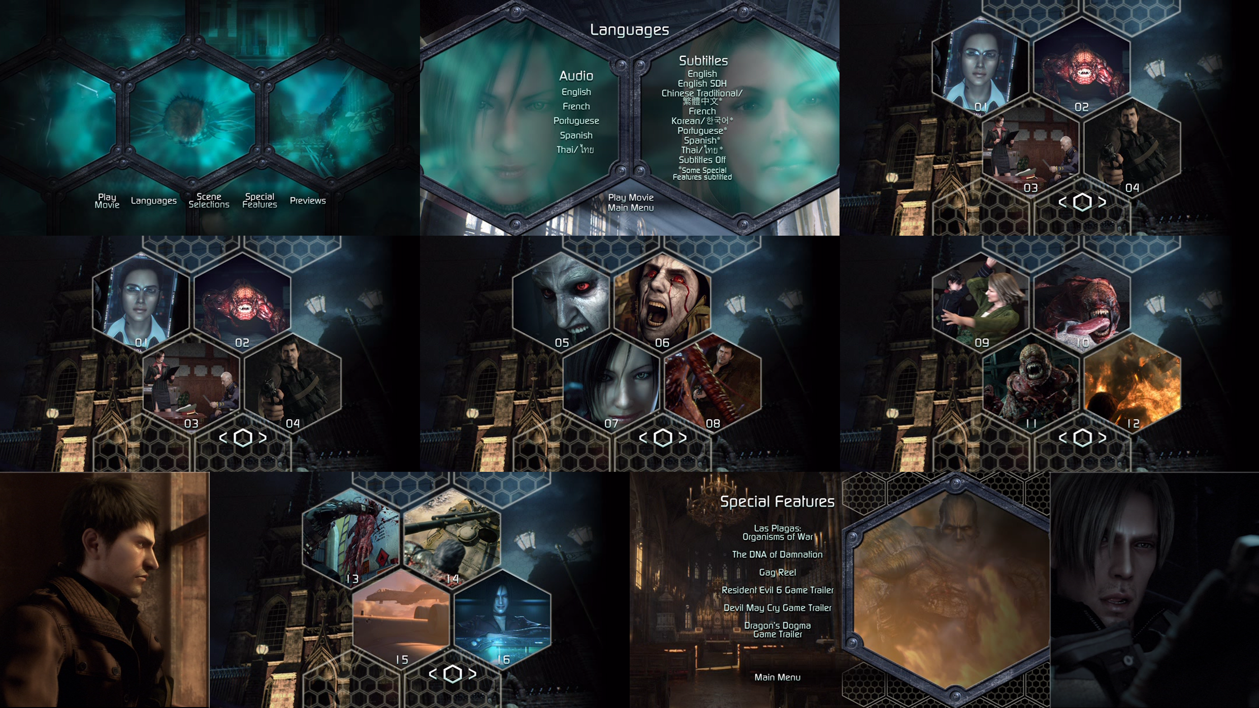 Resident Evil Damnation Dvd Menus By Dakotaatokad On Deviantart