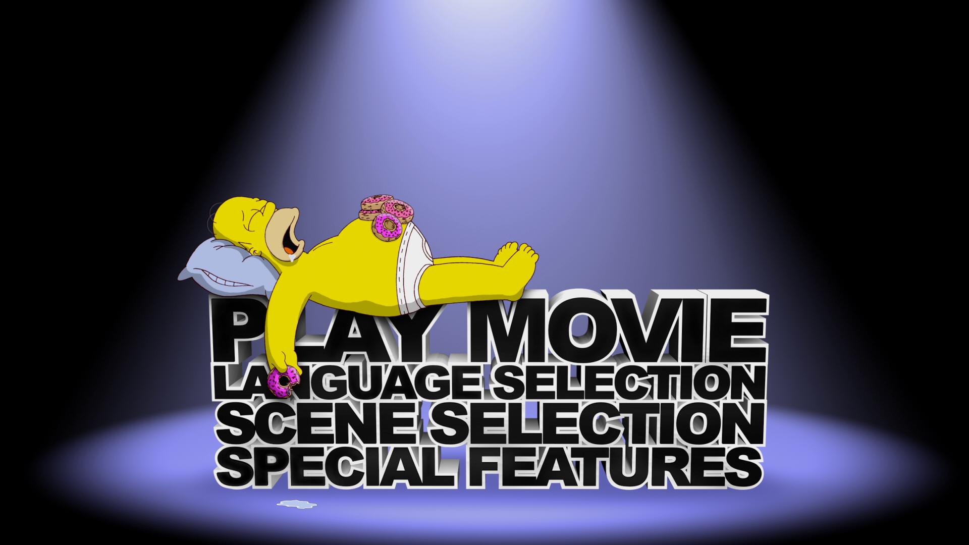 The Simpsons Movie Blu Ray Menus By Dakotaatokad On Deviantart