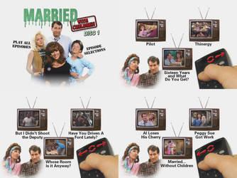 Married With Children Season One DVD Menus