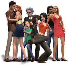 Sims 2 Press Disc Content