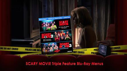 Scary Movie Triple Feature Blu-Ray Menus