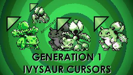 Kanto Ivysaur Cursors