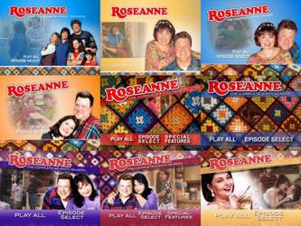 Roseanne The Complete Series DVD Menus