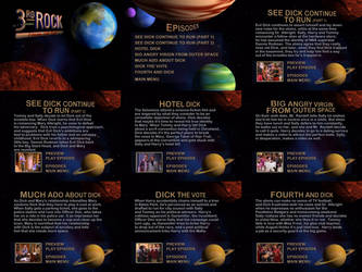 3rd Rock From The Sun Season 2 DVD Menus