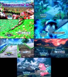 Pokemon Double Feature Blu-Ray Menus