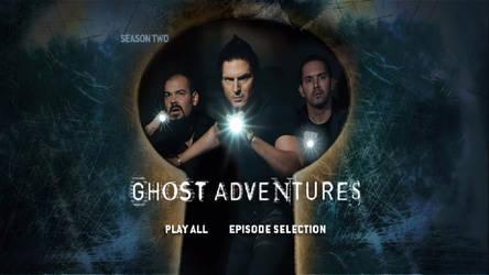 Ghost Adventures Season 2 DVD Menus