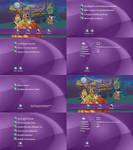 Scooby Doo 13 Spooky Tales DVD Menus