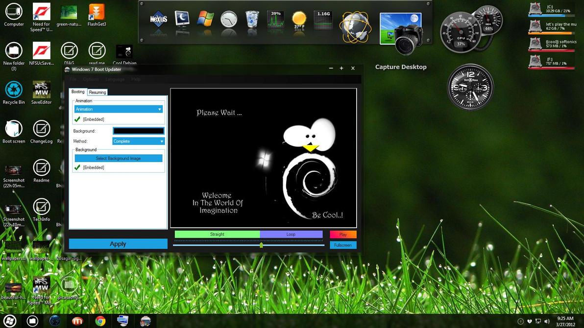 Программа экран загрузки на виндовс 7