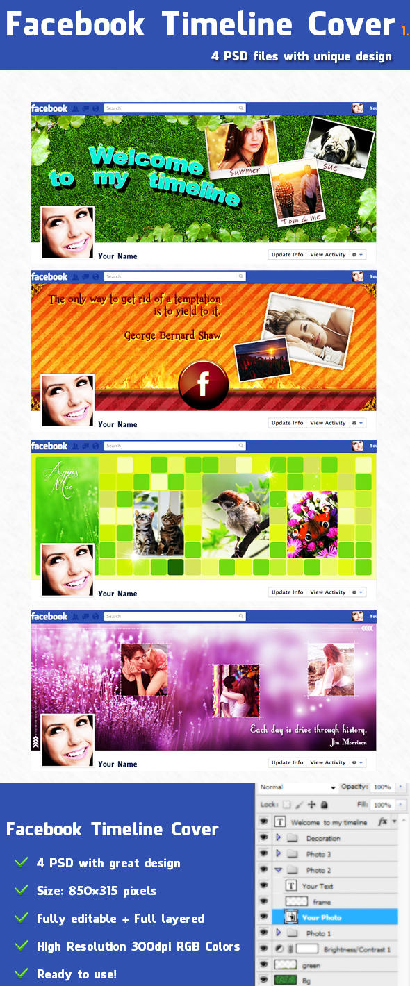Facebook Timeline Covers 1 by sarthony