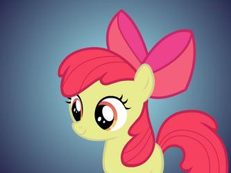 Applebloom Flash Puppet Rig FV by Ponies-in-Reverse