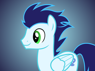 Soarin Flash Puppet Rig FV by Ponies-in-Reverse