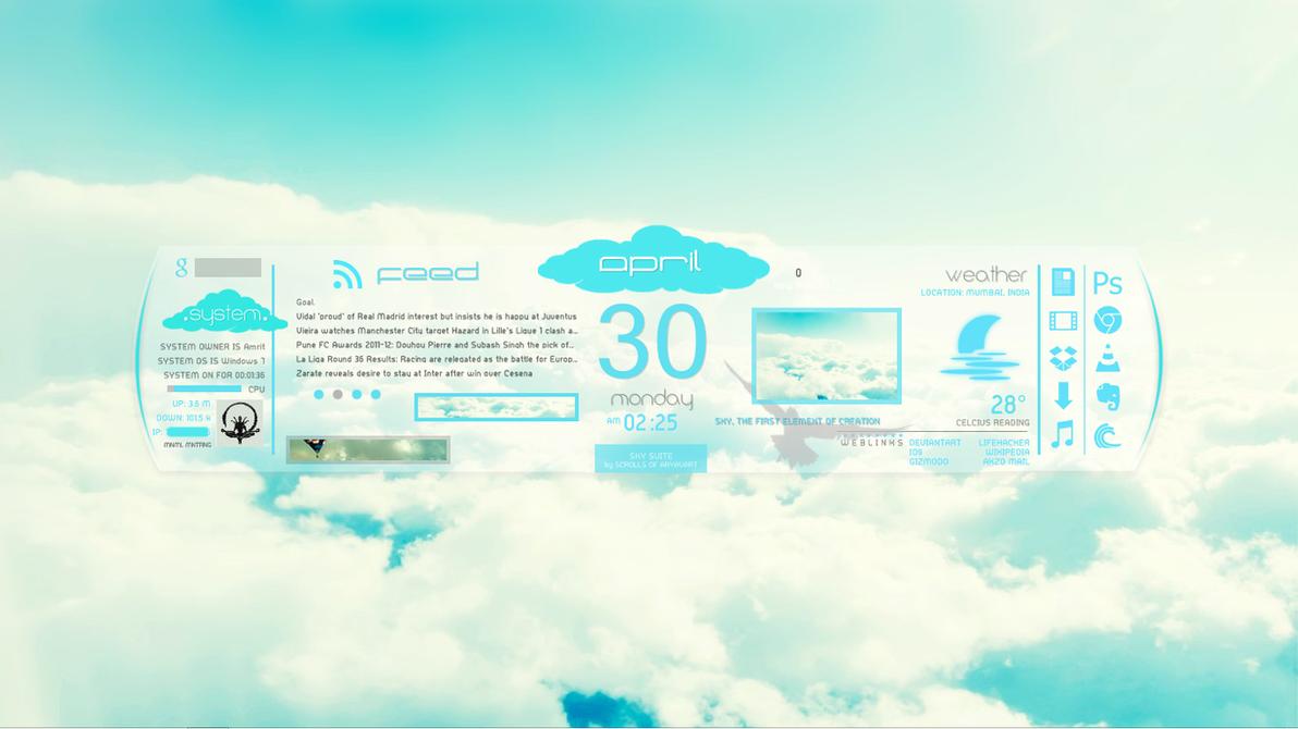 SkySlate by scrollsofaryavart