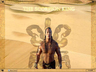 The Scorpion King by corkweed