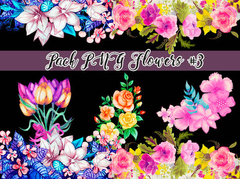Pack - Flowers PNG #3