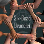 Six-Bead Bracelet - FREE Download