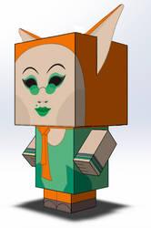 Fenech Cubeecraft by Edward-Jekyll