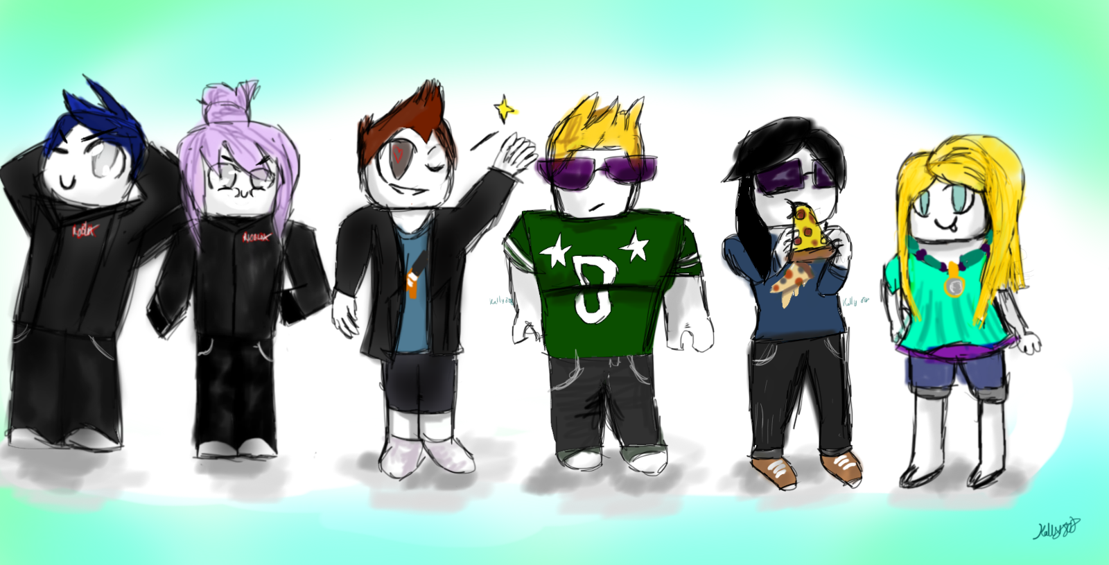 Roblox New Pack By Kally808 On Deviantart