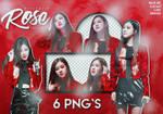 [PACK PNG] Rose (blackpink)
